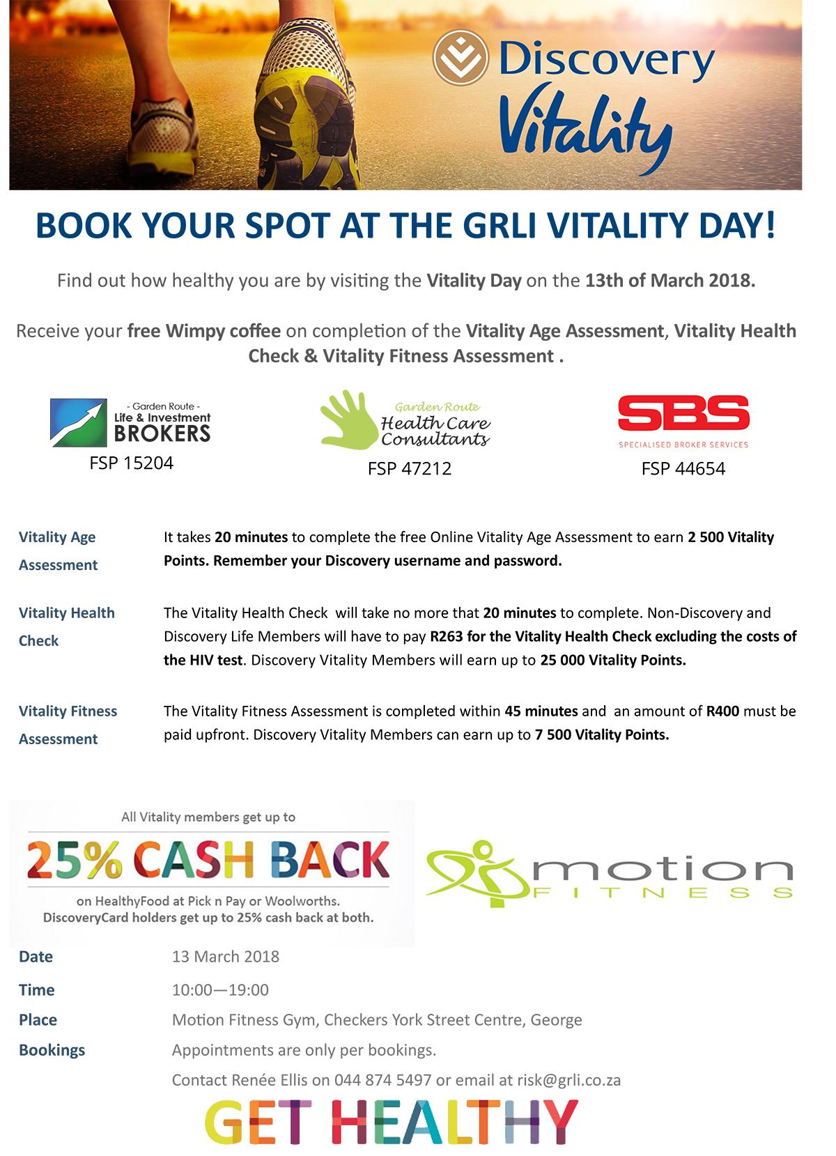 GRLI Vitality Day